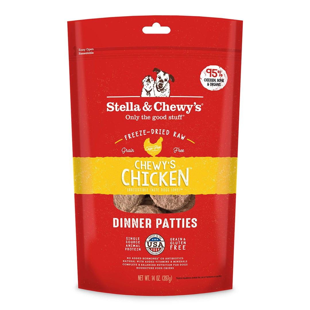 Chewy's Chicken Freeze-Dried Raw Dinner Patties