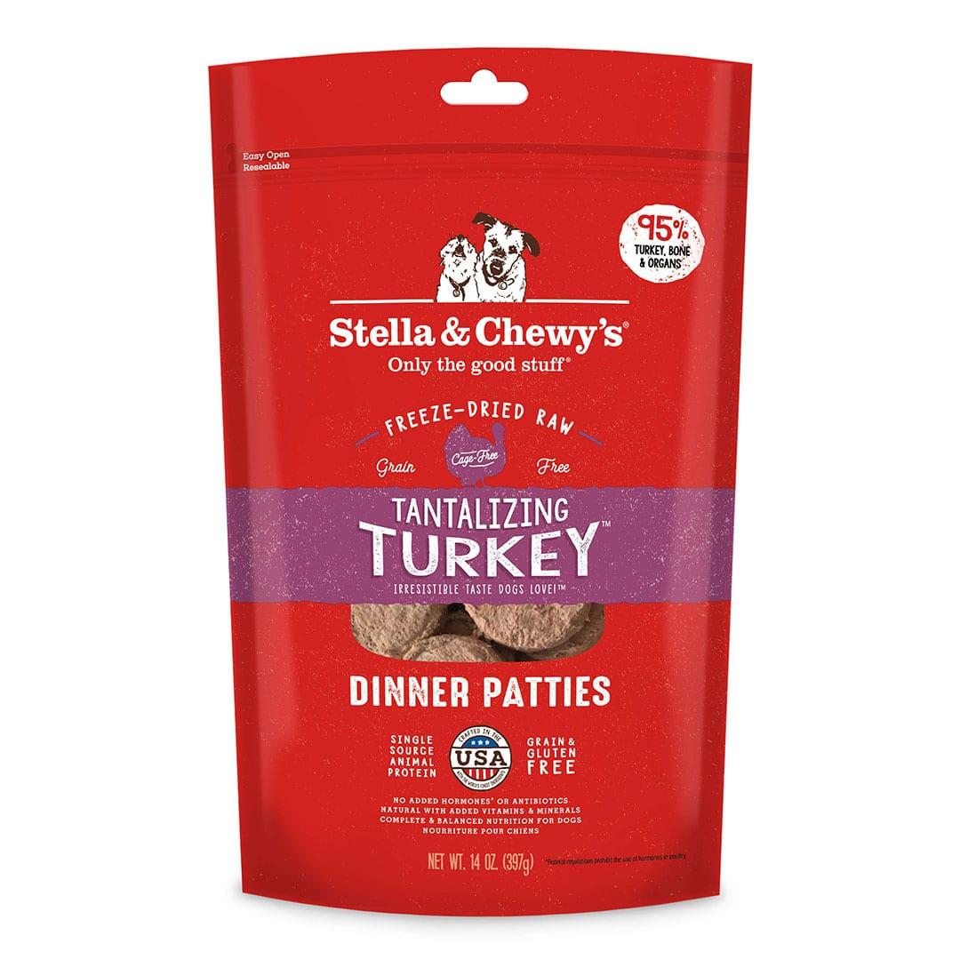 Tantalizing Turkey Freeze-Dried Raw Dinner Patties
