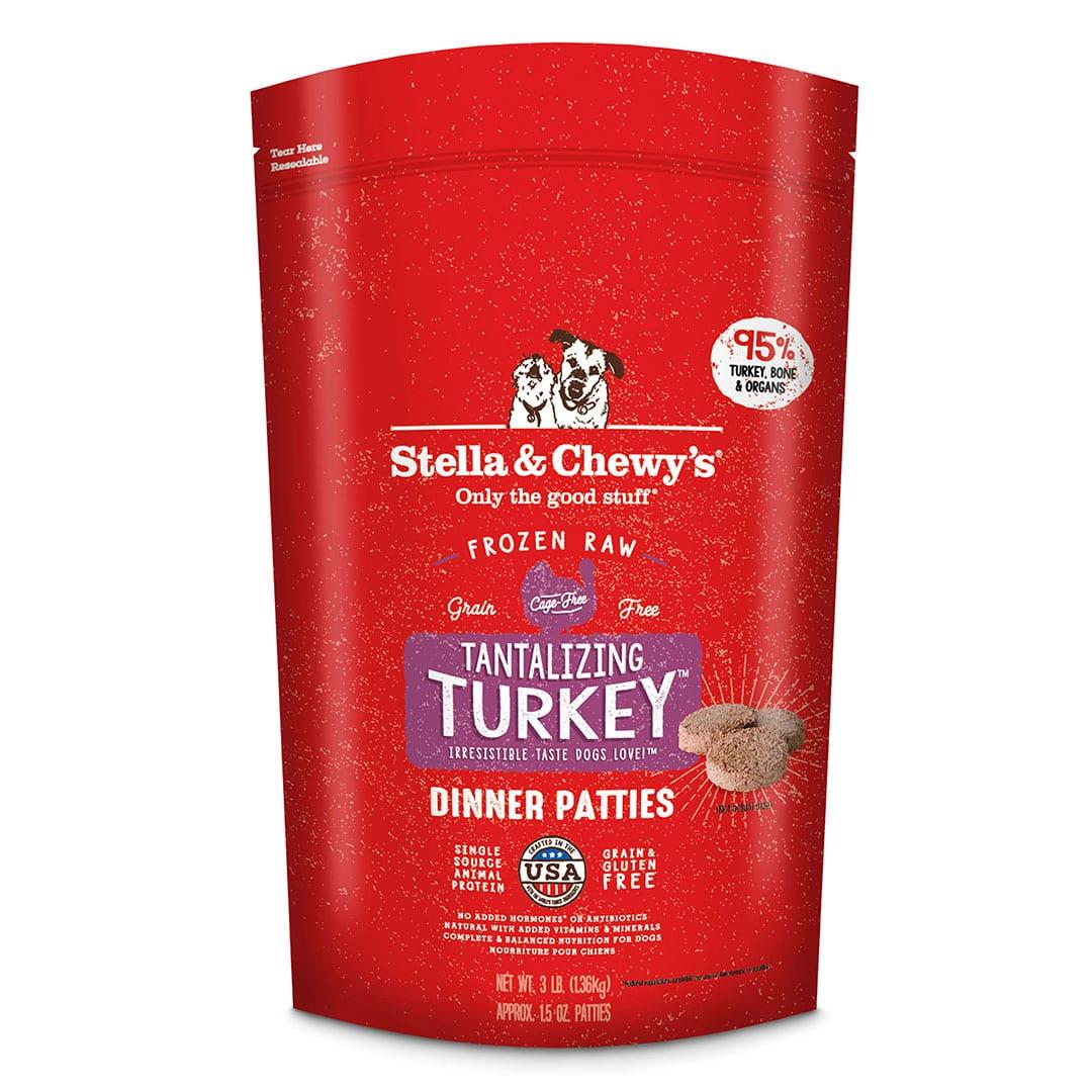 Tantalizing Turkey Frozen Raw Dinner Patties