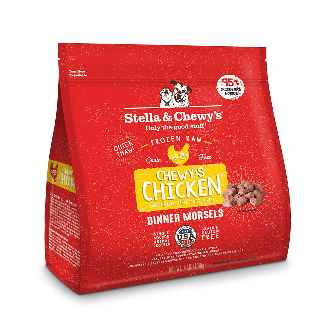 Chewy's Chicken Frozen Raw Dinner Morsels
