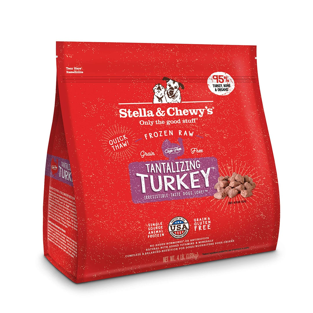 Tantalizing Turkey Frozen Raw Dinner Morsels