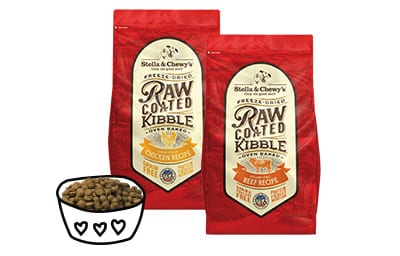 Raw Coated Kibble Product Image