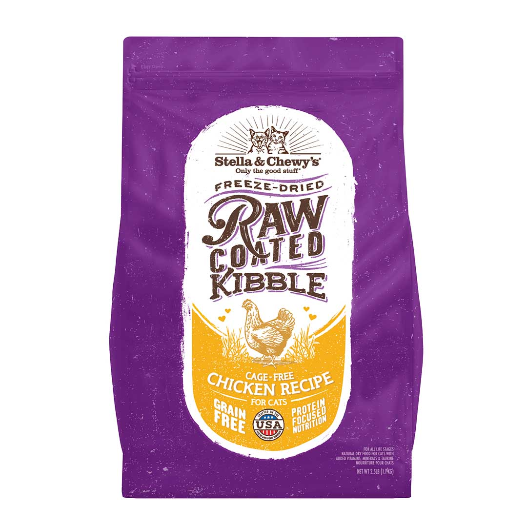 Raw Coated Kibble Cage-Free Chicken Recipe