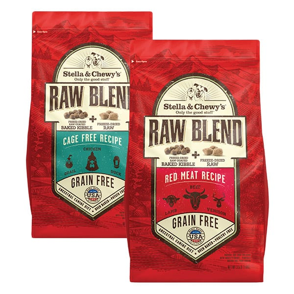 Raw Blend Product Packaging