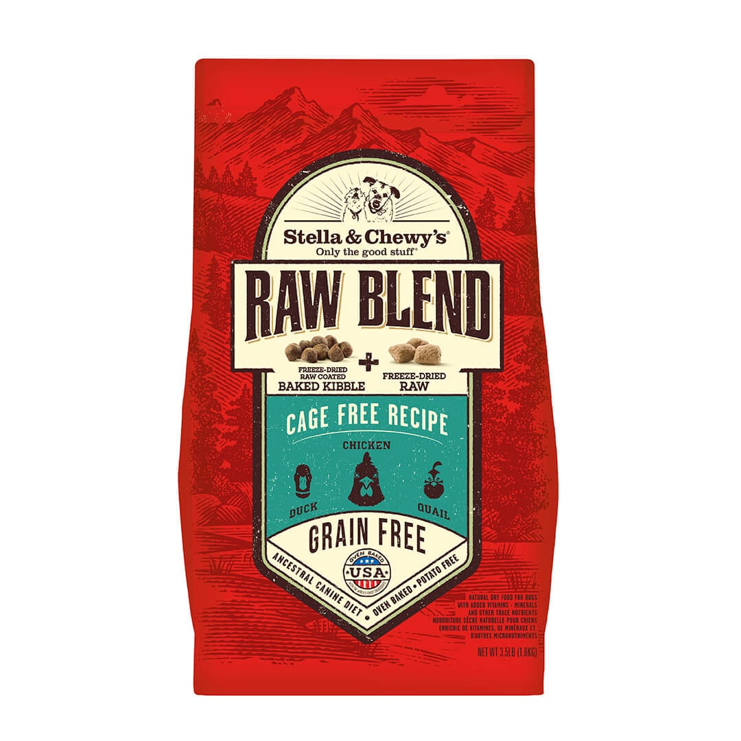 Cage-Free Raw Blend Kibble