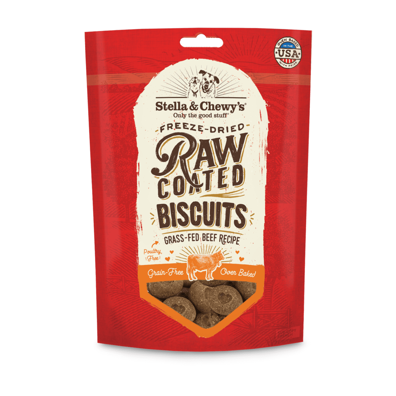Cage-Free Chicken Raw Coated Biscuits