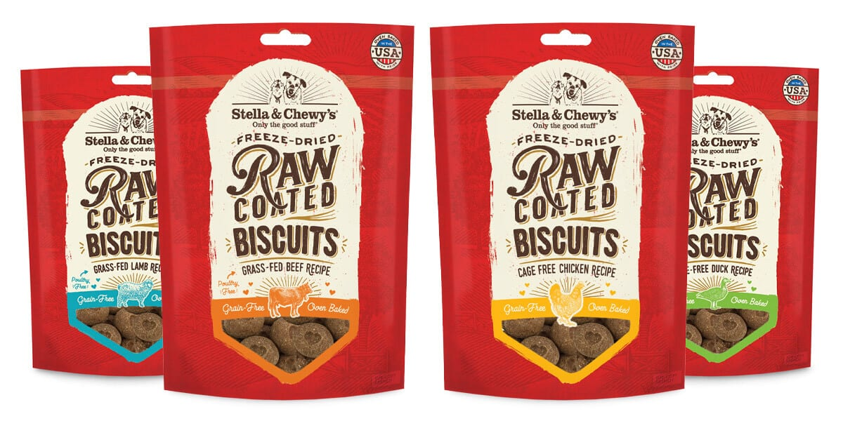Raw Coated Biscuits