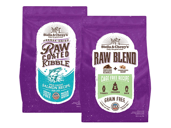 Raw Coated & Raw Blend Kibble